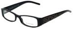 Burberry Designer Eyeglasses B2089-3001 in Black 52mm :: Rx Single Vision
