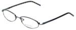 Burberry Designer Reading Glasses B911-U-J22 in Gunmetal 48mm