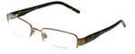Burberry Designer Eyeglasses B1017-1018 in Brown 53mm :: Custom Left & Right Lens