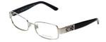 Burberry Designer Eyeglasses B1092-1005 in Silver & Black 51mm :: Custom Left & Right Lens