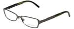 Burberry Designer Eyeglasses B1141-1057 in Dark Gunmetal 51mm :: Rx Single Vision