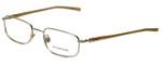 Burberry Designer Eyeglasses B1007-1002 in Gold 50mm :: Rx Bi-Focal