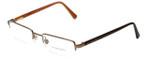 Burberry Designer Eyeglasses B1012-1016 in Copper 50mm :: Rx Bi-Focal