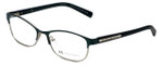 Giorgio Armani Designer Eyeglasses AX1010-6051 in Satin Alpine Green/Satin Silver 53mm :: Custom Left & Right Lens