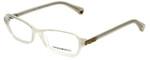 Emporio Armani Designer Eyeglasses EA3009-5082 in Opal 52mm :: Custom Left & Right Lens