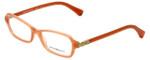 Emporio Armani Designer Eyeglasses EA3009-5083 in Opal Coral 52mm :: Rx Single Vision