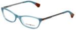 Emporio Armani Designer Reading Glasses EA3014-5127-52 in Opal Green Brown 52mm