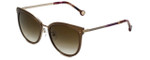 Carolina Herrera Designer Sunglasses SHE102-08FE in Brown Violet