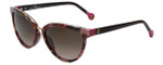 Carolina Herrera Designer Sunglasses SHE688-01GT in Purple Havana