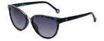 Carolina Herrera Designer Sunglasses SHE688-0719 in Blue Havana