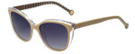 Carolina Herrera Designer Sunglasses SHE694-0AR7 in Ivory Crystal