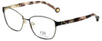 Carolina Herrera Designer Eyeglasses VHE109K-0327 in Black 55mm :: Rx Single Vision