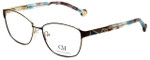 Carolina Herrera Designer Eyeglasses VHE109K-0367 in Brown 55mm :: Rx Single Vision