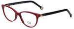Carolina Herrera Designer Eyeglasses VHE660K-0G96 in Burgundy 52mm :: Rx Single Vision