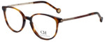 Carolina Herrera Designer Eyeglasses VHE759K-0752 in Tortoise 50mm :: Rx Single Vision