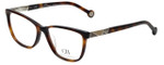 Carolina Herrera Designer Eyeglasses VHE761K-0752 in Tortoise 53mm :: Rx Single Vision