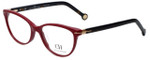 Carolina Herrera Designer Eyeglasses VHE660K-0G96 in Burgundy 52mm :: Progressive