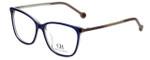 Carolina Herrera Designer Eyeglasses VHE758K-0AD4 in Purple Havana 54mm :: Progressive