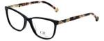 Carolina Herrera Designer Eyeglasses VHE761K-700Y in Black 53mm :: Progressive