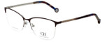 Carolina Herrera Designer Eyeglasses VHE108K-0SDA in Burgundy 54mm :: Rx Bi-Focal