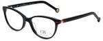 Carolina Herrera Designer Eyeglasses VHE660K-0700 in Shiny Black 52mm :: Rx Bi-Focal
