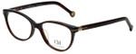 Carolina Herrera Designer Eyeglasses VHE660K-09XK in Dark Havana 52mm :: Rx Bi-Focal