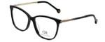 Carolina Herrera Designer Eyeglasses VHE758K-0700 in Brown 54mm :: Rx Bi-Focal