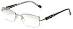 Charriol Designer Eyeglasses PC7230-C5 in Black Silver 51mm :: Rx Single Vision