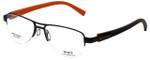 Sports Charriol Designer Eyeglasses SP23019-C4 in Black Orange 54mm :: Rx Single Vision