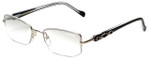 Charriol Designer Eyeglasses PC7230-C5 in Black Silver 51mm :: Progressive