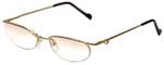 Charriol Designer Reading Glasses PC7075B-C1T in Gold 51mm