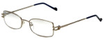 Charriol Designer Reading Glasses PC7121-C3 in Silver Blue 52mm