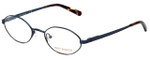 Tory Burch Designer Eyeglasses TY1025-122-49 in Navy 49mm :: Progressive