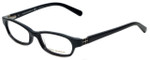Tory Burch Designer Eyeglasses TY2016B-501 in Black Silver 50mm :: Rx Single Vision