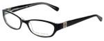 Tory Burch Designer Eyeglasses TY2009-541-50 in Black Crystal 50mm :: Progressive