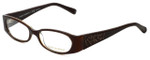 Tory Burch Designer Eyeglasses TY2011Q-862 in Brown Tortoise 50mm :: Progressive