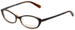 Tory Burch Designer Eyeglasses TY2019-985-49 in Tortoise Orange 49mm :: Progressive