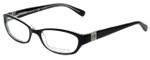 Tory Burch Designer Eyeglasses TY2009-541-52 in Black Crystal 52mm :: Rx Bi-Focal