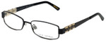Via Spiga Designer Eyeglasses Lalia-500 in Black 52mm :: Progressive