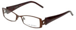 Via Spiga Designer Eyeglasses Lustria-550 in Brown 52mm :: Rx Bi-Focal