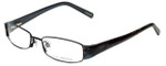 Via Spiga Designer Reading Glasses Lauria-520 in Black 51mm