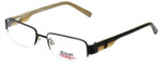 iStamp Designer Eyeglasses XP606M-021 in Black 53mm :: Rx Single Vision