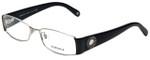 Versace Designer Reading Glasses 1143B-1000 in Black/Silver 51mm