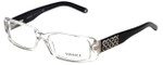 Versace Designer Eyeglasses 3107B-459 in Crystal 54mm :: Custom Left & Right Lens