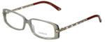 Versace Designer Eyeglasses 3113B-810 in Mint/Brown 51mm :: Rx Single Vision