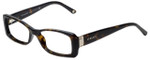 Versace Designer Eyeglasses 3138-108 in Dark Havana 51mm :: Rx Single Vision