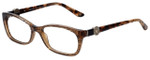 Versace Designer Eyeglasses 3164-991 in Lizard Brown 53mm :: Rx Single Vision