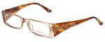Versace Designer Eyeglasses 3105-772 in Honey Tortoise 49mm :: Progressive