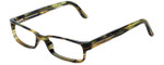 Versace Designer Eyeglasses 3112-811 in Striped Green 54mm :: Progressive