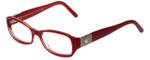 Versace Designer Eyeglasses 3135-878 in Red 51mm :: Progressive